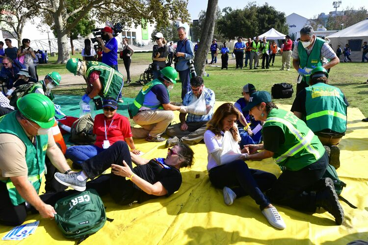 Great California Shakeout will be held on Oct 18 at 10:18 am
