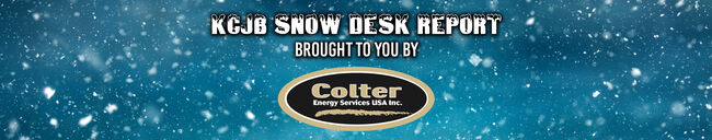 KCJB Snow Desk Report