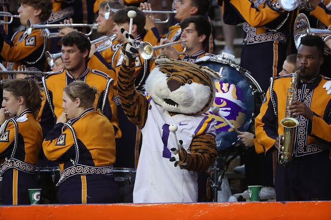 LSU Football Mike The Tiger Getty Images
