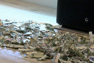 Toddler Shreds Over $1,000 Of Parents' Savings