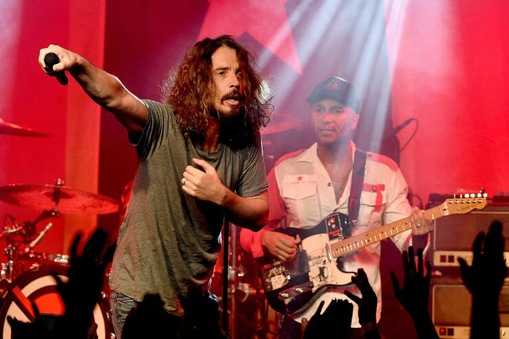 Tom Morello Pays Tribute To Late Chris Cornell On His 55th Birthday | iHeartRadio