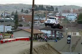 McKay and Donuts - (VIDEO) World Record Semi Truck Jump, AWESOME!