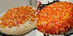 Dino - The Internet Is Freaking Out Over This Candy Corn Pizza