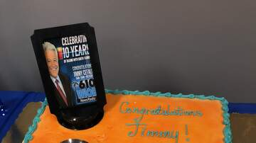 South Florida's First News w Jimmy Cefalo - Celebrating Ten Years with Jimmy Cefalo