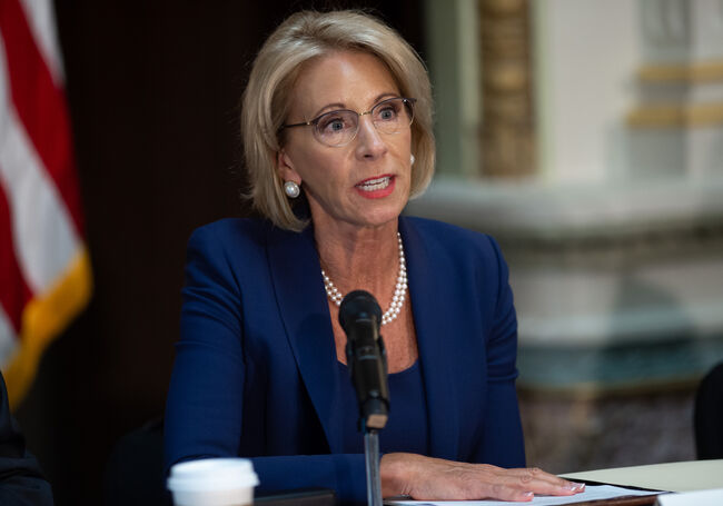 Betsy DeVos Getty Images