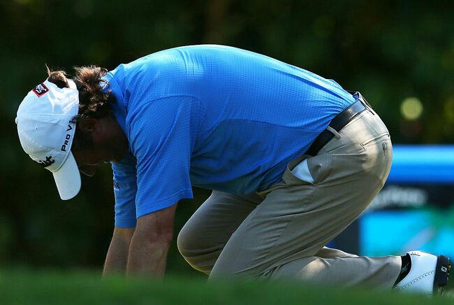 Golf injury