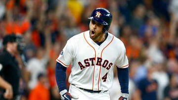 None - Astros Win Game One