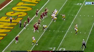 Gopher - WATCH: Iowa pulls off a CRAZY trick play on 4th down versus the Gophers