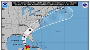Operation Stormwatch - Michael Is Now A Hurricane, Heading For Florida's Panhandle