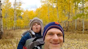 Frankie and Jess - Fun daddy/son time, at the cabin!