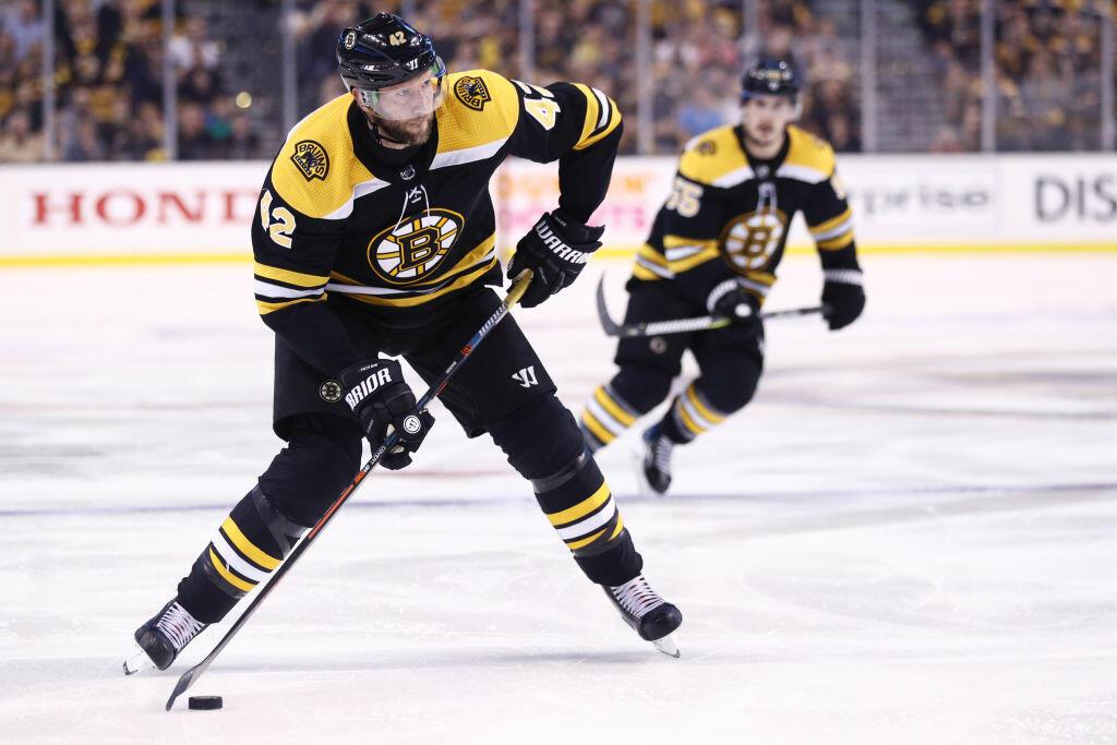 Bruins Shift David Backes To Center