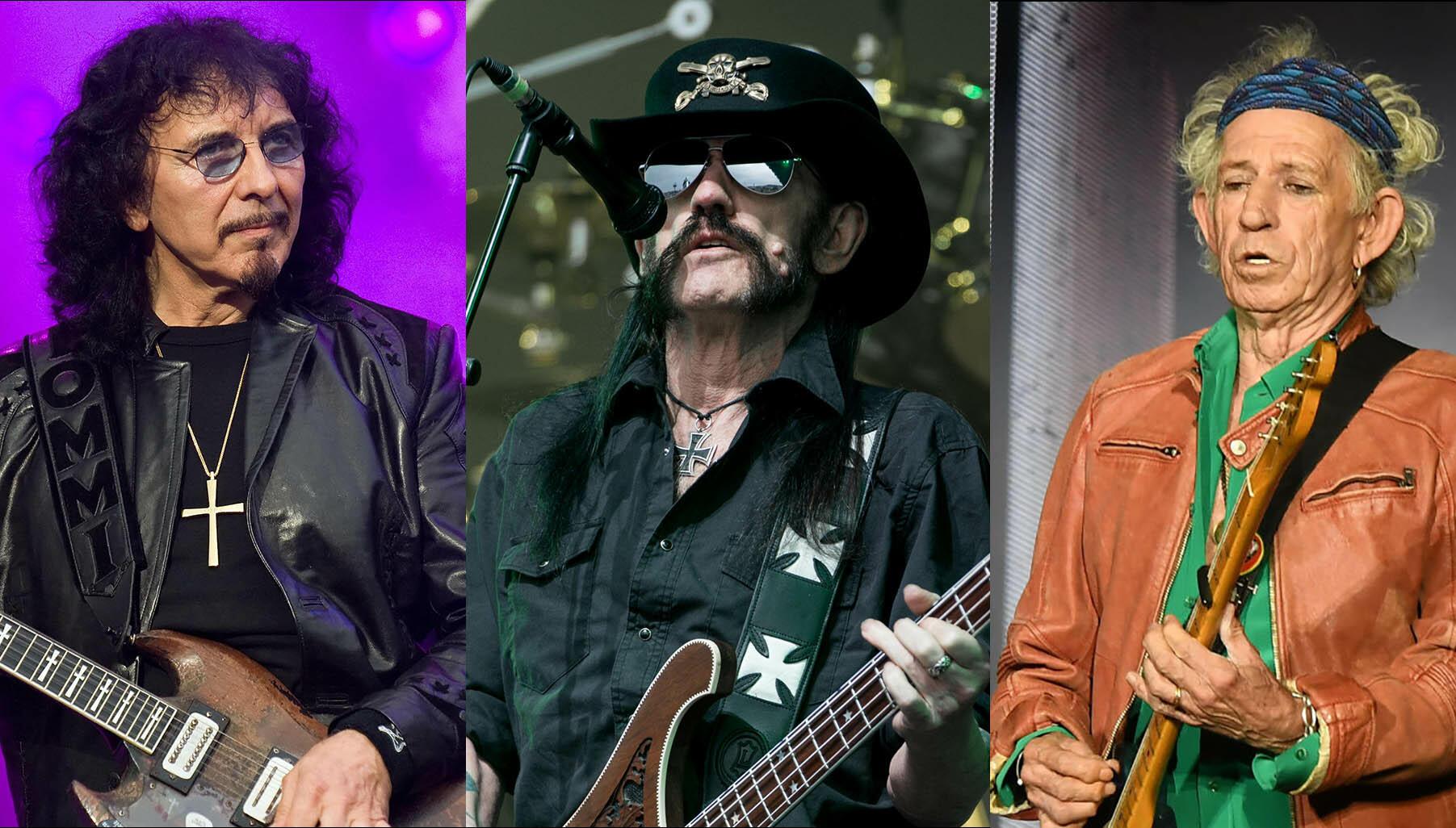 "Tony Iommi ""Amazed"" Keith Richards Is Still Alive but Lemmy Isn't"