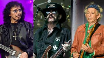 Ken Dashow - Tony Iommi Amazed Keith Richards Is Still Alive but Lemmy Isn't