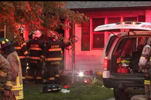 Iowa father dies trying to save son from house fire PHOTOS