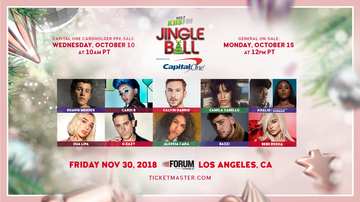 Ryan Seacrest - Ryan Seacrest Announces 2018 KIIS FM Jingle Ball Line-Up