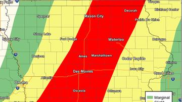 Local News - Rain, floods, tornadoes, then mittens for Iowans this week FLOOD MAPS