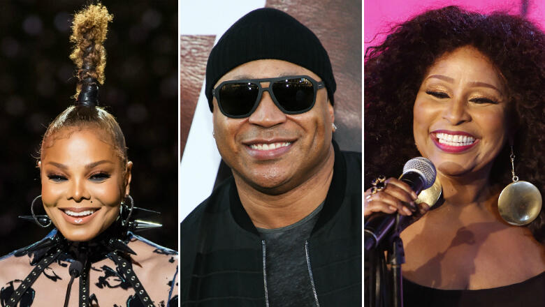 Janet Jackson, LL Cool J & Chaka Khan Nominated For Rock Hall Of Fame