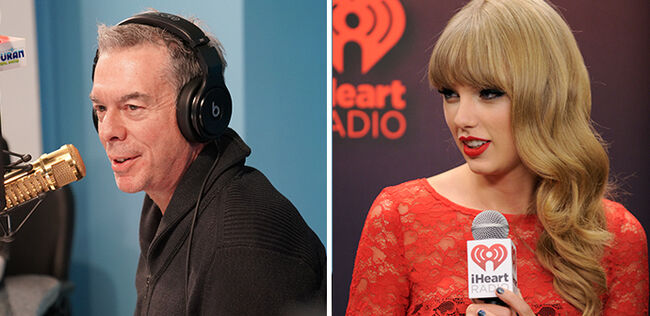 Elvis Duran and Taylor Swift
