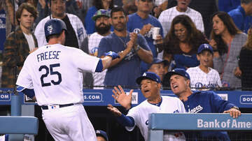 Dodgers Clubhouse - David Freese Talks About His Clutch Moment Vs. Braves