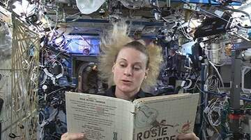 Clint Girlie - Kids Can Watch Real Astronauts Read Books from Space!