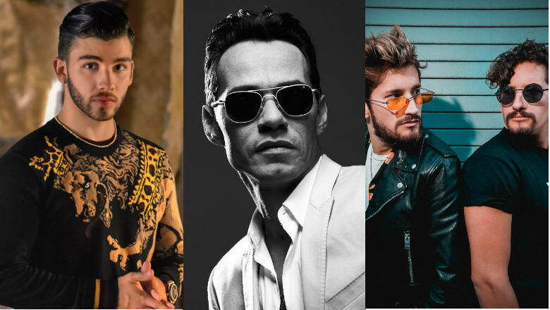 Marc Anthony, Manuel Turizo & More Join iHeartRadio Fiesta Latina Lineup
