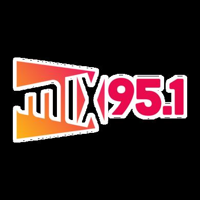 MIX 95.1 logo