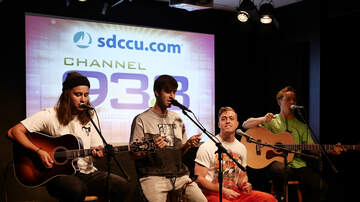 Ethan Cole - Drax Project at Channel 933 SDCCU Red Carpet Room