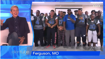 Maurice DeVoe - Ellen Surprises Ferguson Football Coach with 25K