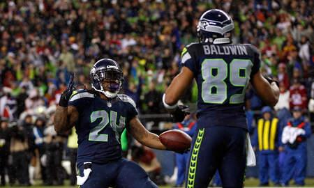 Seattle Seahawks - Doug Baldwin on Marshawn Lynch: He was beloved in this locker room.