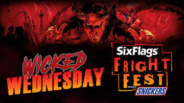 Contests - Wicked Wednesday: 13 Chances to Win Six Flags Fright Fest Tickets!