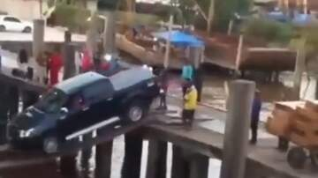Jake Dill - Guys Try to Load Truck Using Wooden Planks