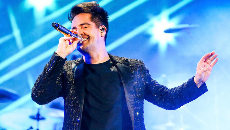 panic at the disco american music awards 2018