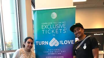 Photos - AT&T Jussie Smollett Coming Out Day Ticket Drop