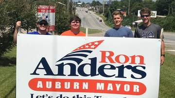 East Alabama Local News - Auburn's Next Mayor Ron Anders on Morning Show