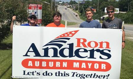 East Alabama Local News - Auburn's Next Mayor Ron Anders on Morning Show