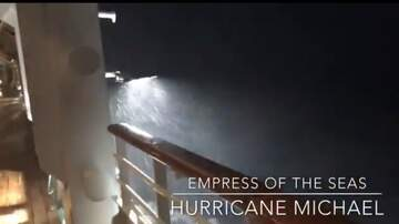 Weird, Odd and Bizarre News - Watch Footage of a Cruise Ship Caught In Heavy Winds From Hurricane Michael