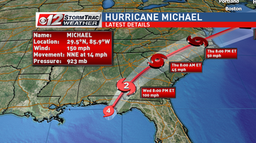 Operation Stormwatch - Category 4 Hurricane Michael closes in on Florida Panhandle
