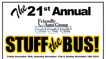 None - 21st Annual Friendly Auto Group Stuff The Bus 11/16-11/18 2018