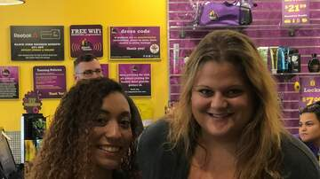 Photos - Ashley and KC101 at Planet Fitness in Waterbury