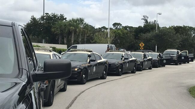 FHP Troopers head north to help out during Hurricane Michael
