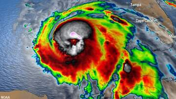 Coast to Coast AM with George Noory - Spooky 'Skull' Spotted in Image of Hurricane Michael