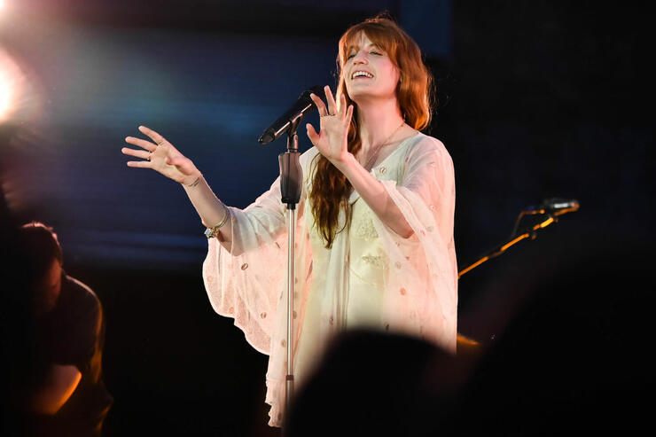 Florence + The Machine Raise Over $700k For Charity On 'High As Hope' Tour | iHeartRadio