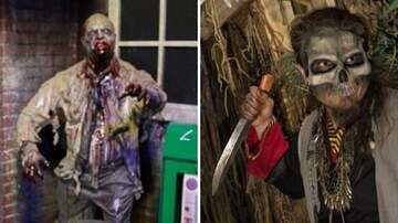Klinger - Visitor At Nashville Nightmare Haunted House Stabbed w/Real Knife