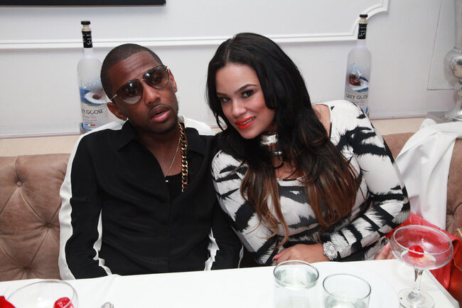 Fabolous and Emily B (getty)