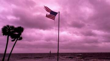 Storm Watch VC - LOOK: Sky Turns Purple after Hurricane Michael Passes