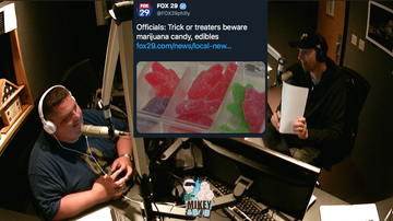 The Morning Freak Show - No. Your kids aren't getting Halloween weed candy.