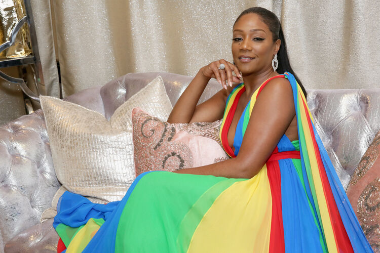 Backstage Creations Giving Suite At The 70th Emmy Awards - Day 2 LOS ANGELES, CA - SEPTEMBER 17: Tiffany Haddish attends Backstage Creations Giving Suite At The 70th Emmy Awards at Microsoft Theater on September 17, 2018 in Los Angeles, California. (Photo by Rebecca Sapp/Getty Images for Backstage Creations)