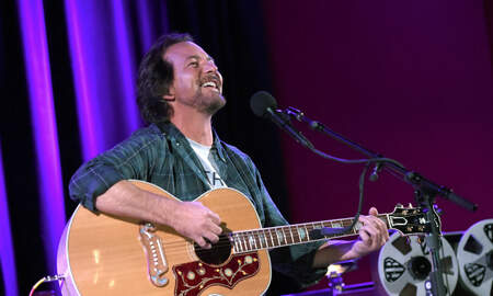 Trending - Eddie Vedder Auctions Off Signed Guitar For Charity