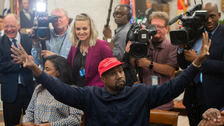 Kanye Went to the White House and It Was Weird