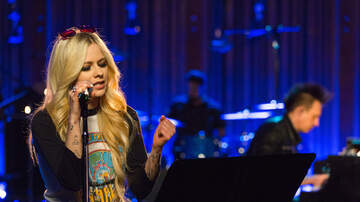 None - Avril Lavigne Sings Head Above Water Live During Candid Performance